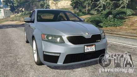 Skoda Octavia VRS 2014 [hatchback] для GTA 5