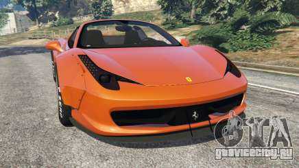 Ferrari 458 Italia Spider [LibertyWalk] для GTA 5