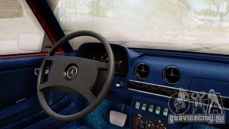 Mercedes-Benz 230E AMG 3.2 1982 Evolution Mod для GTA San Andreas вид справа