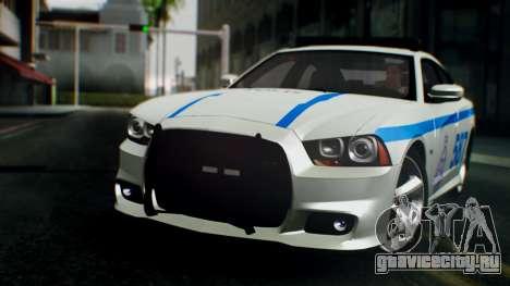 Dodge Charger SRT8 2015 Police Malaysia для GTA San Andreas