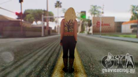 WWE Kaitlyn для GTA San Andreas третий скриншот