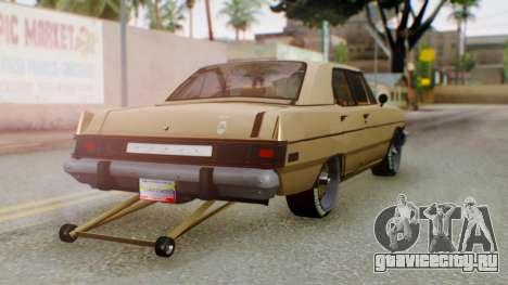 Dodge Dart 1975 Estilo Drag для GTA San Andreas вид слева