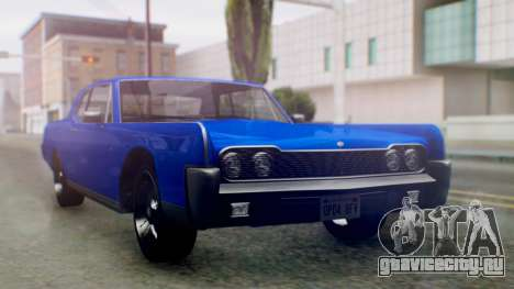 GTA 5 Vapid Chino Tunable IVF для GTA San Andreas