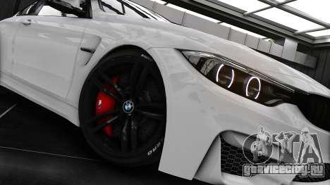 BMW M4 F82 2015 для GTA 4 вид сзади