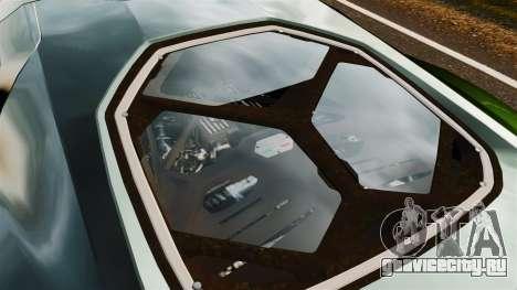 Lamborghini Asterion LP900 для GTA 4 вид сзади