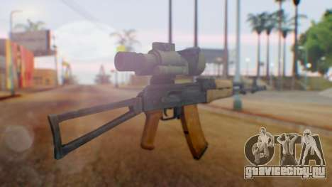 Arma OA AK-47 Night Scope для GTA San Andreas второй скриншот