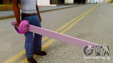 Rose Sword from Steven Universe для GTA San Andreas третий скриншот