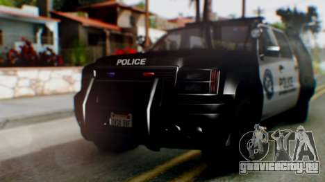 GTA 5 Police Ranger для GTA San Andreas вид слева