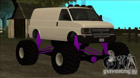 GTA 5 Vapid Speedo Monster Truck для GTA San Andreas колёса