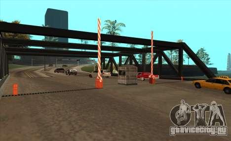 Таможня для GTA San Andreas второй скриншот