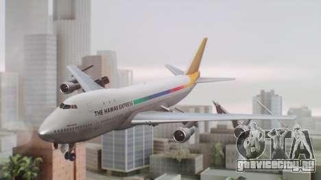 Boeing 747-100 The Hawaii Express Jason Everest для GTA San Andreas