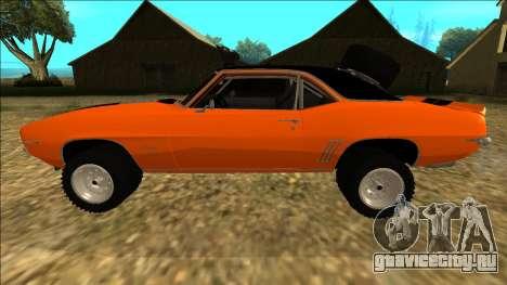 Chevrolet Camaro SS Rusty Rebel для GTA San Andreas