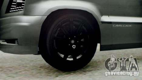 GTA 5 Albany Cavalcade II для GTA San Andreas вид сзади слева