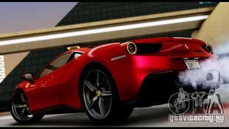 Ferrari 488 GTB 2016 для GTA San Andreas вид слева