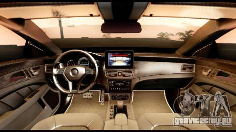 Mercedes-Benz CLS63 AMG 2015 для GTA San Andreas вид справа