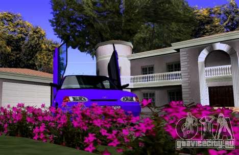 VAZ 2113 KBR для GTA San Andreas вид сзади
