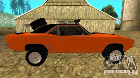 Chevrolet Camaro SS Rusty Rebel для GTA San Andreas двигатель