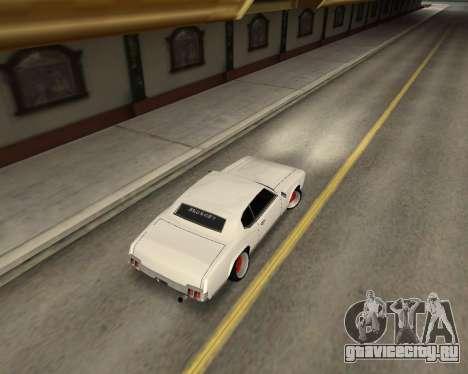 Sabre Boso для GTA San Andreas вид сзади слева