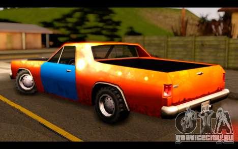 GTA SA Earl Picador для GTA San Andreas вид слева