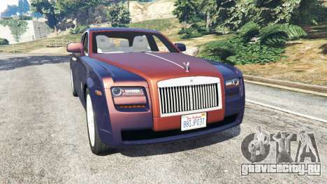 Rolls Royce Ghost 2014 v1.2 для GTA 5