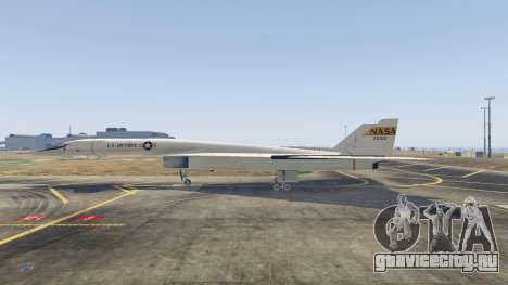 XB-70 Valkyrie для GTA 5 третий скриншот