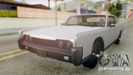 GTA 5 Vapid Chino Tunable IVF для GTA San Andreas