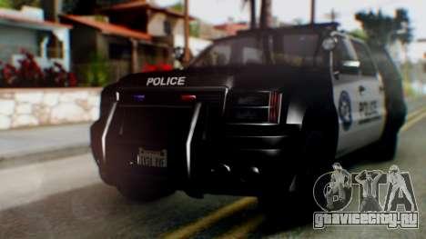 GTA 5 Police Ranger для GTA San Andreas