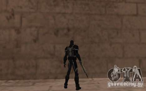 Агент Веном от Robinosuke для GTA San Andreas четвёртый скриншот