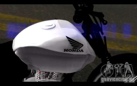Honda CG Titan 150 Stunt Imitacion для GTA San Andreas вид справа