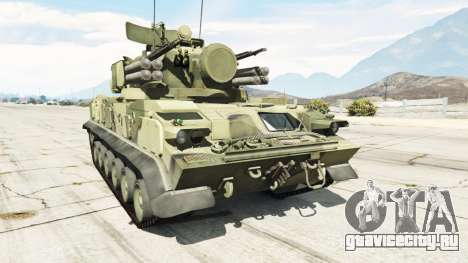 2К22 Тунгуска для GTA 5