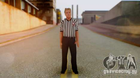 WWE Arbitro для GTA San Andreas второй скриншот