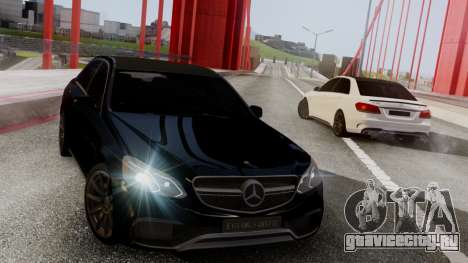 Mercedes-Benz E63 AMG PML Edition для GTA San Andreas вид слева