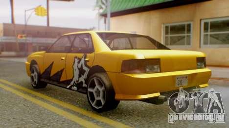 Sultan Винил из Need For Speed ProStreet для GTA San Andreas вид слева
