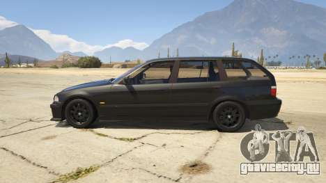 BMW M3 E36 Touring для GTA 5 вид слева