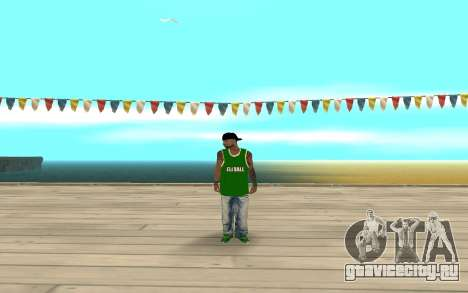 Fam3 Eli Ball для GTA San Andreas второй скриншот