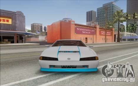 Elegy Drift King GT-1 [2.0] для GTA San Andreas вид сзади слева