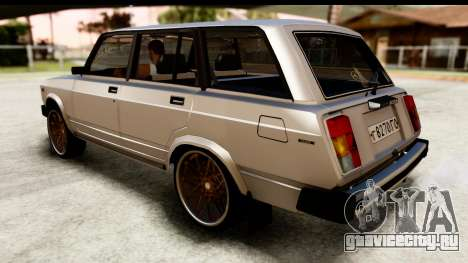 ВАЗ 2104 Turkish Edition для GTA San Andreas вид сзади слева