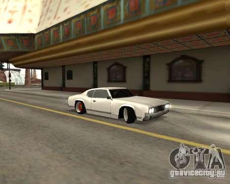 Sabre Boso для GTA San Andreas вид слева