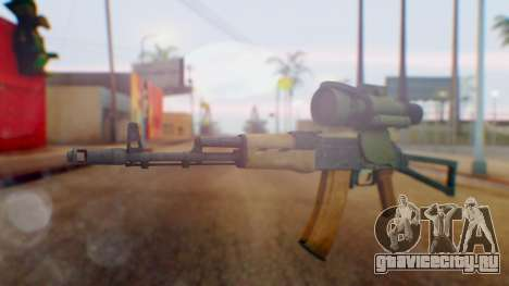 Arma OA AK-47 Night Scope для GTA San Andreas