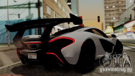 McLaren P1 GTR-VS 2013 для GTA San Andreas вид слева