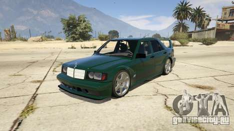 Mercedes-Benz 190E Evolution v1.1 для GTA 5