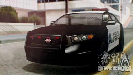 GTA 5 Police LS для GTA San Andreas