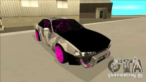 Nissan Silvia S14 Drift для GTA San Andreas двигатель
