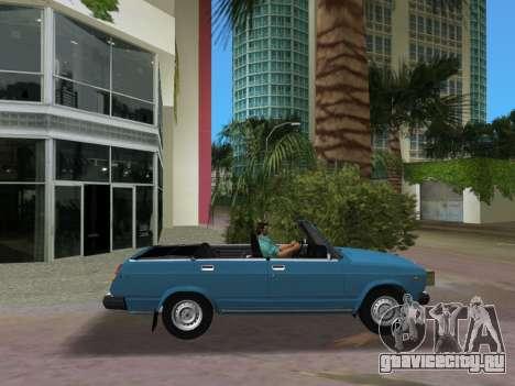 ВАЗ 21047 Кабриолет для GTA Vice City вид слева