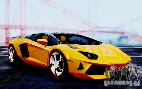 Lamborghini Aventador Mansory Carbonado Color для GTA San Andreas