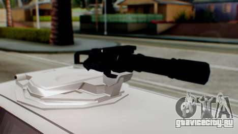 GTA 5 Benefactor Stretch E Turreted IVF для GTA San Andreas вид сзади слева