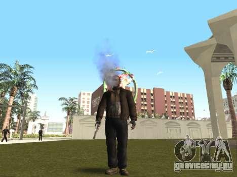 Пар изо рта у CJ и у прохожих для GTA San Andreas пятый скриншот