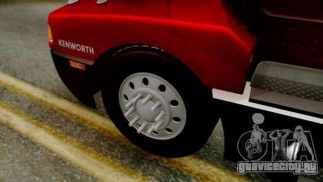Kenworth T600 Aerocab 72 Sleeper для GTA San Andreas вид справа