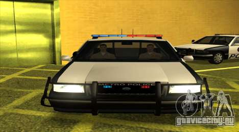 Police LS для GTA San Andreas вид слева
