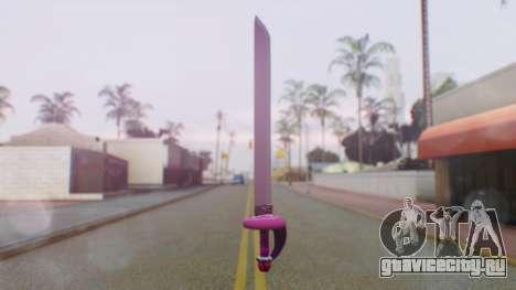 Rose Sword from Steven Universe для GTA San Andreas второй скриншот